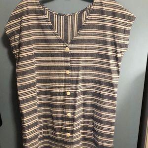 Peyton & Parker chambray dress-L